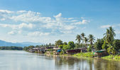 Communities living along the Ping River  — Stock Photo