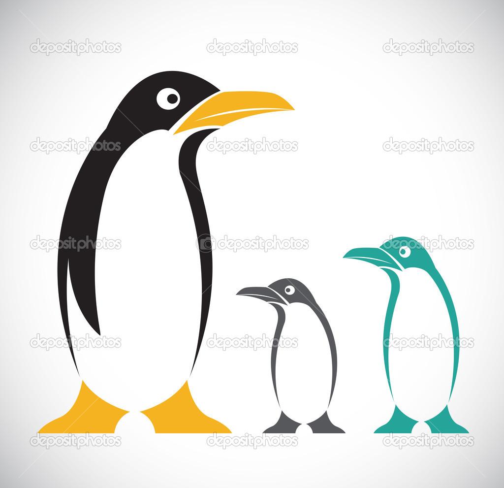 矢量图像的企鹅