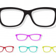 Vector image of Glasses — Stock Vector #51007103