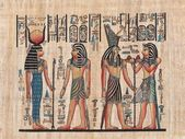 Papiro egiziano originale — Foto Stock