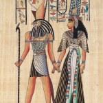 Original egyptian papyrus — Stock Photo #19534429