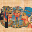 Original egyptian papyrus — Stock Photo #19534523