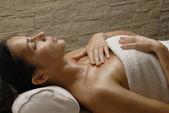 Woman spa. — Stock Photo