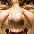 Royalty-Free Stock Photo: Ugly and furious zombie portrait.Vampire portrait.Horror vampire portrait.