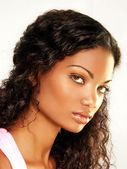Beautiful young latin woman — Foto Stock
