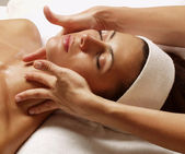 Spa donna latina. — Foto Stock