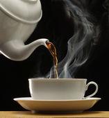 Taza de la bebida caliente — Foto de Stock