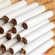 Extreme closeup of cigarettes detail — Stock Photo #13850121
