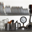 Stock Photo: kitchen utensil&quot