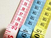 üç ölçme ayrıntı bantlar — Stok fotoğraf
