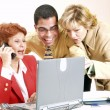 Royalty-Free Stock Photo: Business team working together in an office
