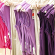 Stock Photo: Fashion clothes in a shop