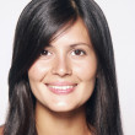 Closeup retrato de joven hermosa mujer Latina — Foto de Stock