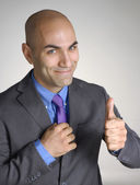 Successful young businessman portrait. — Stock Photo