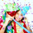 Funny carnival kids portrait — Stock Photo