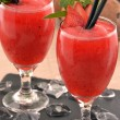 Strawberry daiquiri cocktail drink — Stock Photo