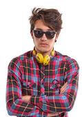 Deejay man — Stock Photo