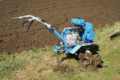 Motor-cultivator — Stock Photo