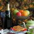 Celebratory still-life - Stock Photo
