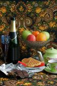 Celebratory still-life — Stock Photo