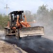 Stock Photo: Repairs of road