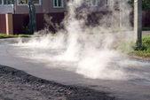 Yol tamiratı — Stok fotoğraf