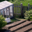 Stock Photo: Rural kitchen garden