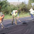 Stock Photo: Repair of road
