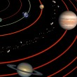 Stock Photo: Planets of Solar system