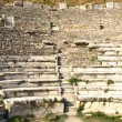 Seats in Ephesus Amphitheater — Stock Photo