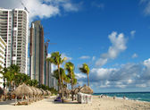 Miami Beach in winter — Stock Photo