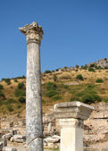 Ephesus columns 1 — Stock Photo