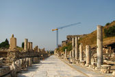 Restoration in Ephesus — Stock Photo