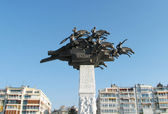 Monument on Gudogdu square at Izmir,Turkey — Stock Photo