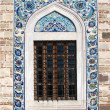 Window of Konak Camii mosque — Stockfoto #13599785
