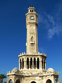 Clock Tower (Saat Kulesi) in Izmir — Stock Photo
