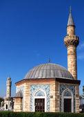 Mosque (Konak Camii) and Clock Tower (Saat Kulesi) — Foto Stock