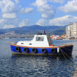 Boat in Izmir (Alsancak) — Stock Photo #24104665