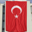 Giant Turkey flag — Stock Photo