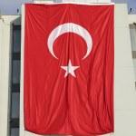 Giant Turkey flag — Stock Photo #26868895