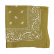mustard color bandanna — Stock Photo