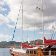 Yacht in Marmaris, Turkey — Stock Photo