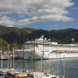 Marina in Marmaris, Turkey — Stock Photo