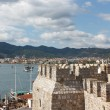 Fortress and Marmaris Marina — Stock Photo