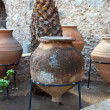 giant amphoras — Stock Photo