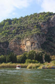 Dalyan view — Stockfoto