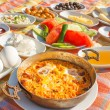Turkish breakfast 1 — Stockfoto