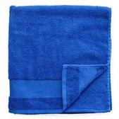 Modré ručníky — Stock fotografie