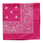 Pink  bandanna — Stock Photo