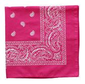 Pink  bandanna — Stock Photo